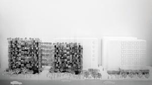 100からなる建築  ― アンケート分析による都市型学生施設の提案 ―