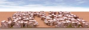 ガーデン・ストリートによる萱島底層高密住宅の再編