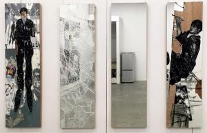 「鏡に描いた自画像 #4」「卒制メモ」「卒制メモ2」