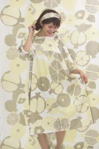 天然染料によるプリントテキスタイルと衣服