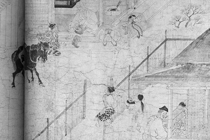 縁側-古代~中世絵巻からみた場として-