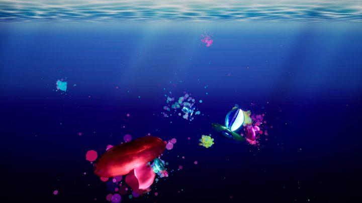 集まり漂うクラゲの意思