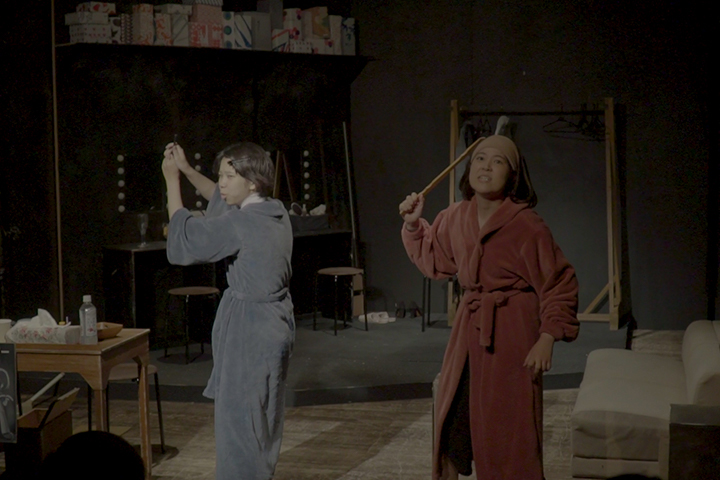 なぜ、演劇をつくるのか – ダイレクト・シネマを用いたドキュメンタリー映像の制作 –